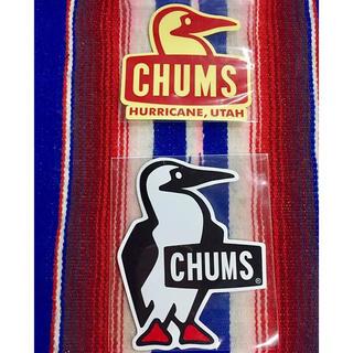 CHUMS - 新品 CHUMS Sticker 2枚セット チャムス ステッカー y