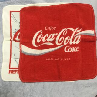コカコーラ(コカ・コーラ)のコカコーラ/タオル/2枚セット(タオル/バス用品)