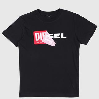 ディーゼル(DIESEL)のDIESEL KIDS  ディーゼル キッズ ロゴTシャツ 8Y 130 新品(Tシャツ/カットソー)