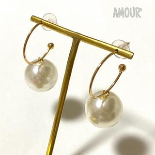 ローリーズファーム(LOWRYS FARM)のbig pearl pierce(ピアス)
