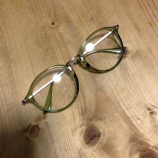 レヴォ(Revo)のZOZOTOWN購入【Revo.】ユニセックス クリアフレーム ボストン メガネ(サングラス/メガネ)
