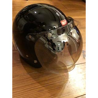 ベル(BELL)のールド付き Greaser ヘルメット グリーサー Buco BELL(ヘルメット/シールド)