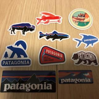 パタゴニア(patagonia)のカッティングステッカー ミニ10枚(その他)