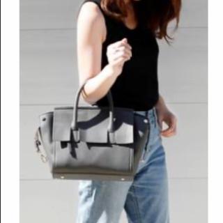 プレーンクロージング(PLAIN CLOTHING)のハンドバッグ ショルダーバッグ グレー 2way(ハンドバッグ)
