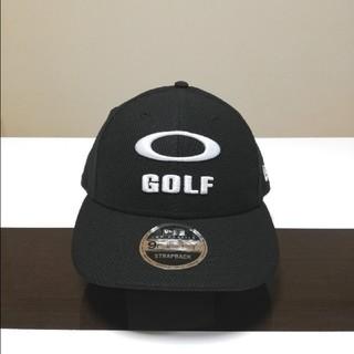 Oakley - 2020限定★USオークリー*NEW ERA コラボ3D GOLFロゴ CAP黒