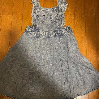 リズリサ(LIZ LISA)のLIZLISA サロペットスカート(ひざ丈スカート)