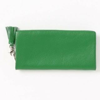 ローズバッド(ROSE BUD)のローズバッド ロングウォレット グリーン 緑 財布 大容量 (財布)
