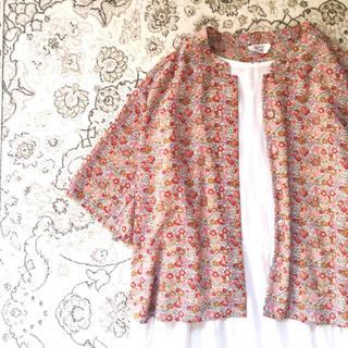 サンタモニカ(Santa Monica)のflower shirt(シャツ/ブラウス(半袖/袖なし))