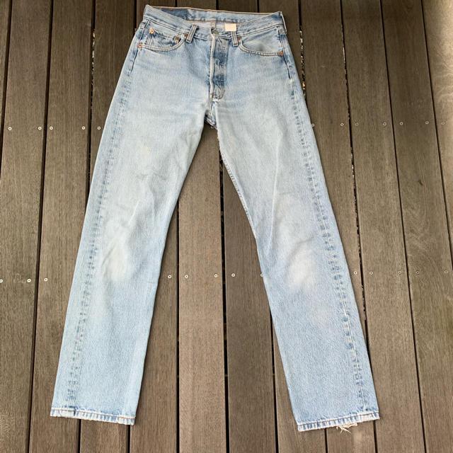 Levi's(リーバイス)の早い者勝ち levis 501 2001年製造 コロンビア製? メンズのパンツ(デニム/ジーンズ)の商品写真