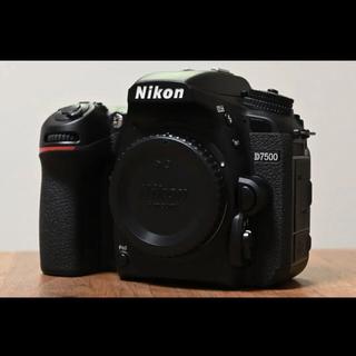 ニコン(Nikon)の【美品】ニコン Nikon D7500 撮影枚数6,711枚!(デジタル一眼)