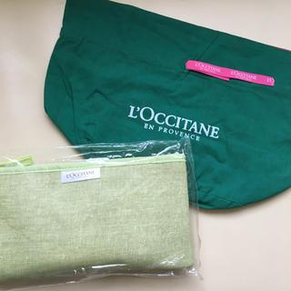 L'OCCITANE - L'OCCITANE 巾着バッグ、アメニティ セット 【新品・非売品】