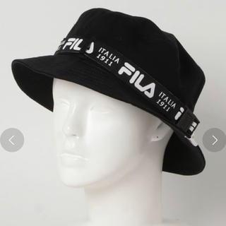 フィラ(FILA)のFILA バケットハット ベルト式(ハット)