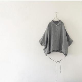 nest Robe - rehellinen round collar blouse ブラウス 作家