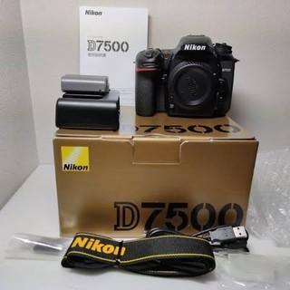 使用期間80日 付属品完備 ニコン d7500(デジタル一眼)