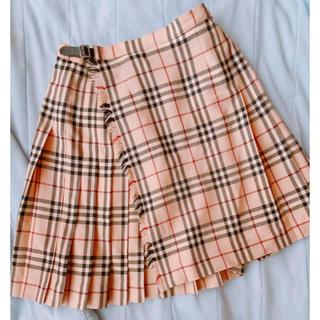 バーバリー(BURBERRY)の安室奈美恵 Burberry  London 巻きスカート(ひざ丈スカート)