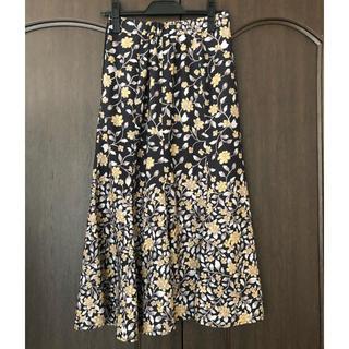 ココディール(COCO DEAL)のcocodeal 花柄マーメイドスカート(ロングスカート)