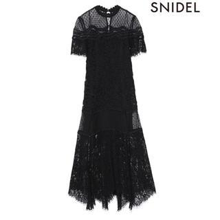 snidel - SNIDEL 総レースドレス ワンピース