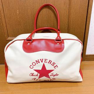 コンバース(CONVERSE)のコンバース ボストンバッグ 赤 白(ボストンバッグ)