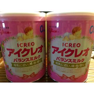 グリコ - アイクレオ 800g 2缶セット