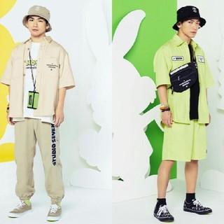 ジーユー(GU)のセット売◇スタジオセブン×GU ワークシャツ(5分袖)(シャツ)