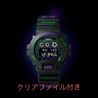 ジーショック(G-SHOCK)のG-SHOCK DW-6900 feat.RADIO EVA 限定品(腕時計(デジタル))