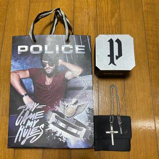 ポリス(POLICE)のお値下げ!POLICE 十字架 シルバー ペンダント(ネックレス)