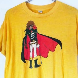 vintage 80年代 キャプテンハーロック TTシャツ(Tシャツ/カットソー(半袖/袖なし))