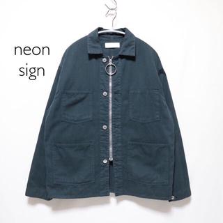 ジエダ(Jieda)のneon sign ネオンサイン リング ブルゾン カバーオール ジャケット(Gジャン/デニムジャケット)
