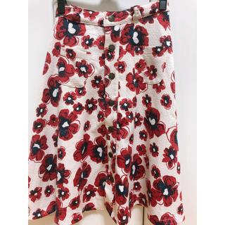 リズリサ(LIZ LISA)の【リズリサ】花柄スカート(ひざ丈スカート)