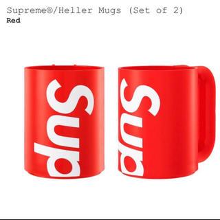 シュプリーム(Supreme)のSupreme Heller Mugs 2sets シュプリーム マグカップ(グラス/カップ)