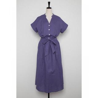 ダブルスタンダードクロージング(DOUBLE STANDARD CLOTHING)のマコ様専用 新品未使用 リネン混ワンピ(ロングワンピース/マキシワンピース)