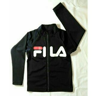 フィラ(FILA)の中古 FILAラッシュガード 130センチ 紺(水着)