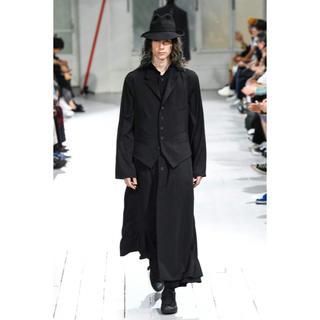 Yohji Yamamoto - ヨウジヤマモト スタンドカラーロングドレス yohji yamamoto