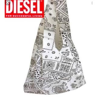 ディーゼル(DIESEL)のDIESELディーゼル ペイズリー柄バッグ 非売品⭐︎未使用美品⭐︎(エコバッグ)