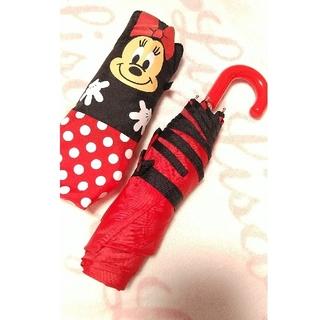 ディズニー(Disney)のミニー 折り畳み傘(傘)