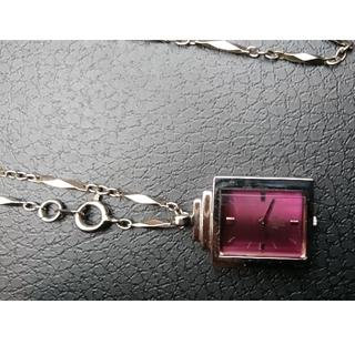 アナスイ(ANNA SUI)のANNA SUI ネックレス 時計(腕時計)