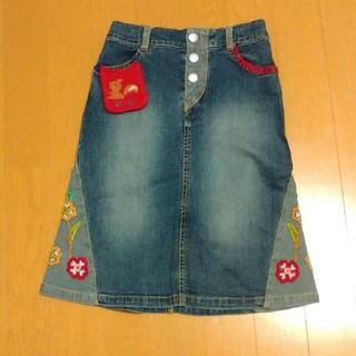ニットプランナー(KP)のKP デニムスカート 120cm (スカート)