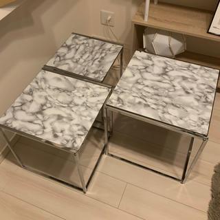 ニトリ - ニトリ サイドテーブル ネストテーブル 3つセット