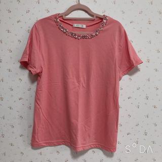 エージーバイアクアガール(AG by aquagirl)のTシャツ ビジュー トップス(Tシャツ(半袖/袖なし))
