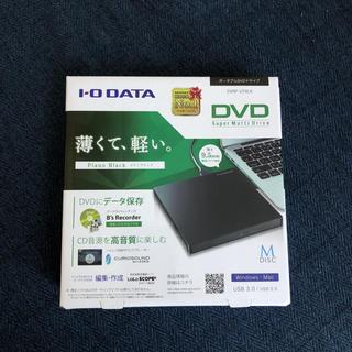 アイオーデータ(IODATA)のDVDドライブ 外付け(PC周辺機器)