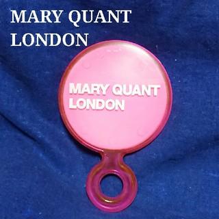 マリークワント(MARY QUANT)のマリークヮント Mary Quant London ピンク 手鏡 ミラー 中古(ミラー)