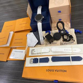 ルイヴィトン(LOUIS VUITTON)の最新v2 ルイヴィトン タンブールホライゾン v2 腕時計(腕時計(アナログ))