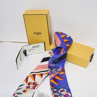フェンディ(FENDI)のFENDI ラッピー ツイリー バックのチャーム (箱付きタグ付き)(バンダナ/スカーフ)