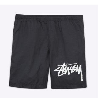 ステューシー(STUSSY)のXLサイズ stussy nike water shorts BLACK(ショートパンツ)
