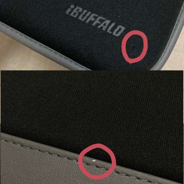 Buffalo(バッファロー)のバッファロー Buffalo ノートパソコン用 ソフトケース スマホ/家電/カメラのPC/タブレット(その他)の商品写真