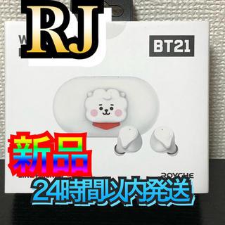 ボウダンショウネンダン(防弾少年団(BTS))のBT21 Bluetooth イヤホン 正規品(RJ) BTS 韓国 人気商品(ヘッドフォン/イヤフォン)