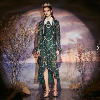 パメオポーズ(PAMEO POSE)のPAMEO POSE Lace Princes Dress(ひざ丈ワンピース)