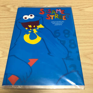 SESAME STREET - クッキーモンスター ノート ファイル