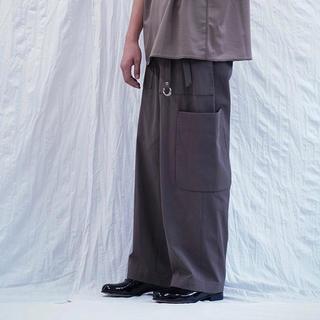 アンユーズド(UNUSED)のURU ウル cotton gabardine fatigue pants(ワークパンツ/カーゴパンツ)