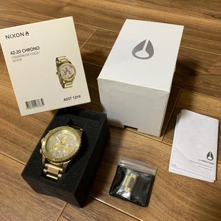 ニクソン(NIXON)のNIXON ニクソン ゴールド メンズ(腕時計(デジタル))